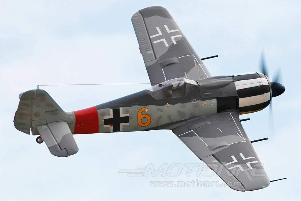 "FMS FW-190 ""Yellow 6"" 1400mm (55"") Wingspan - PNP FMS045-Y6"