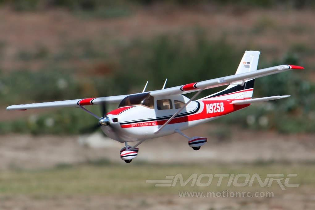 "FMS Sky Trainer 182 V2 5ch Red 1410mm (55.5"") Wingspan - PNP FMS007-ATRED"