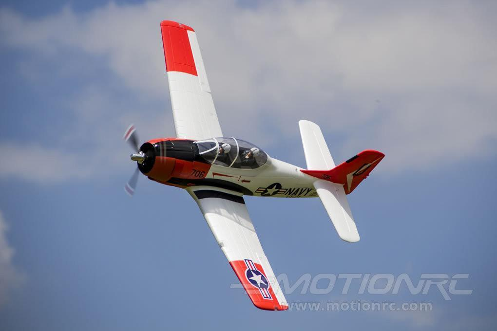 "FMS T-28 Trojan V4 Red 1400mm (55"") Wingspan - PNP FMS083P"