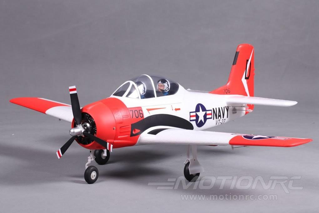 "FMS T-28 V2 Red 800mm (31.5"") Wingspan - PNP FMS032"