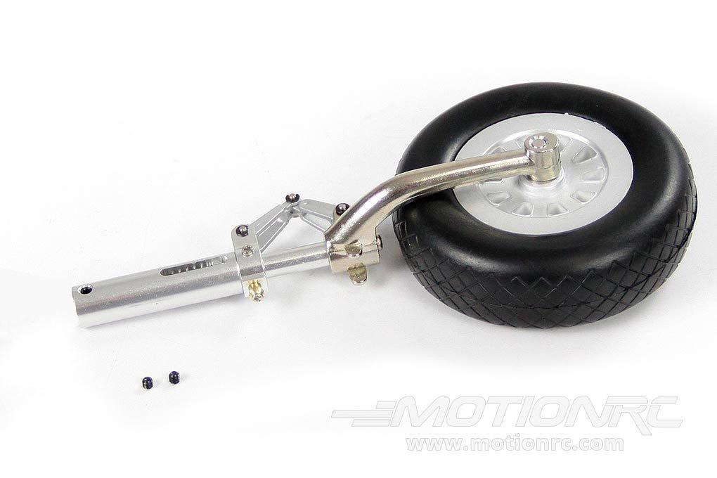 Freewing 1410mm P-51D Left Landing Gear Strut and Tire FW301110813