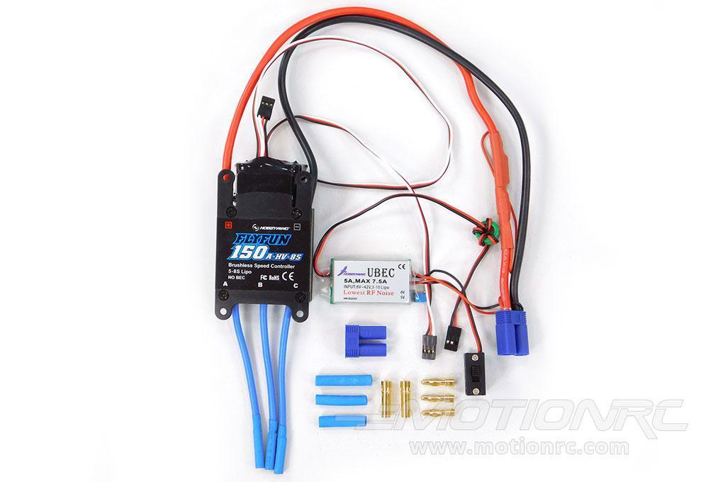 Freewing 150A Brushless ESC for 8S Power Systems 030D002002