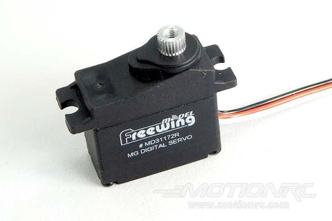 "Freewing 17g Digital Metal Gear Reverse Servo with 150mm (5.9"") Lead MD31172R-150"