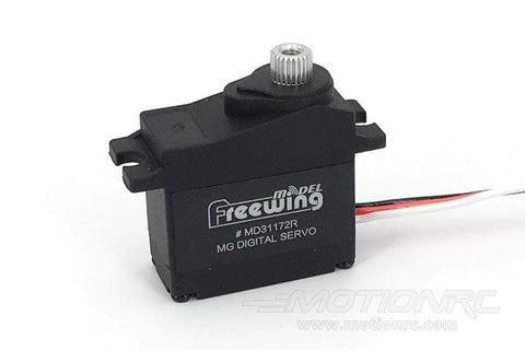 "Freewing 17g Digital Metal Gear Reverse Servo with 200mm (7.8"") Lead MD31172R-200"