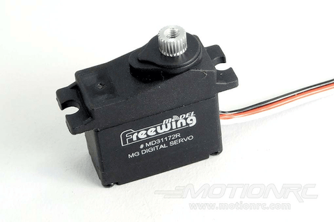 "Freewing 17g Digital Metal Gear Reverse Servo with 550mm (22"") Lead MD31172R-550"