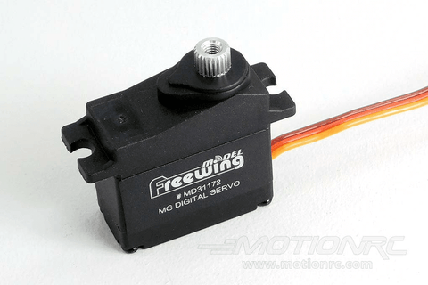 "Freewing 17g Digital Metal Gear Servo with 550mm (22"") Lead MD31172-550"