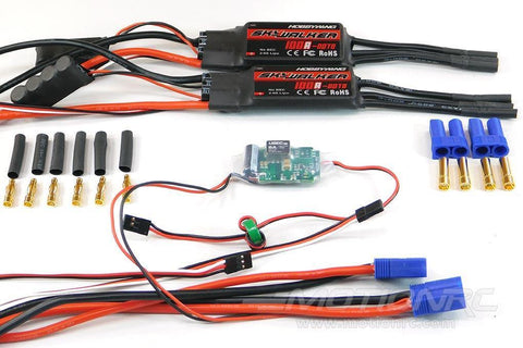 Freewing 80mm EDF A-10 100A Dual ESC (2) 050D002001