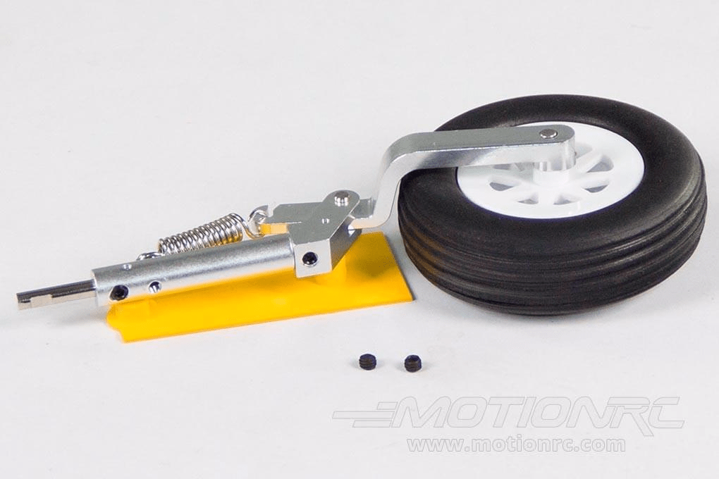 Freewing 80mm EDF Avanti S Main Landing Gear Strut and Tire - Left FJ21211085