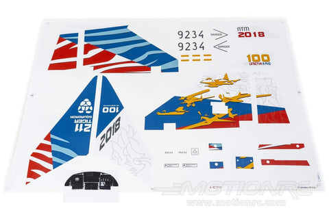 Freewing 80mm EDF JAS-39 Gripen Decal Sheet FJ2181107