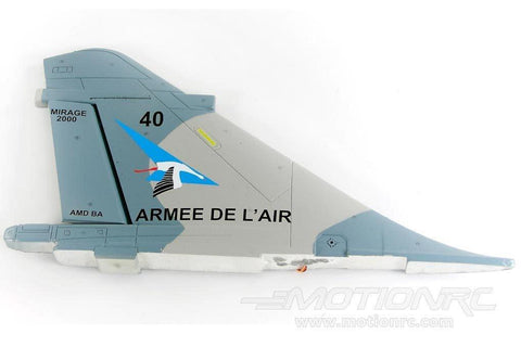 Freewing 80mm EDF Mirage 2000 Vertical Stabilizer - old color scheme FJ2061103