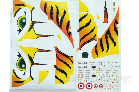 Freewing 80mm EDF Mirage 2000C V2 Waterslide Decals - Tiger Meet FJ2062107