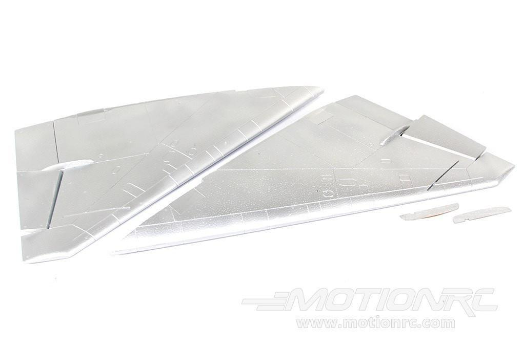 Freewing 80mm Mig-21 Main Wing Set - Silver - SCRATCH AND DENT FJ2101102