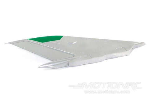Freewing 80mm Mig-21 Vertical Stabilizer - Silver FJ2101104