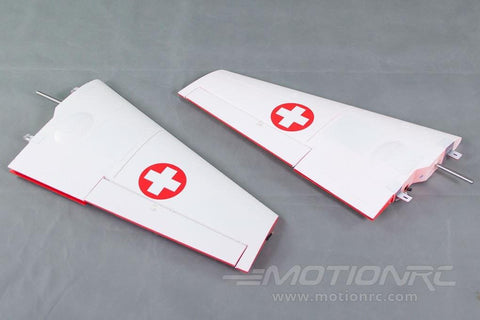 Freewing 90mm DH-112 Venom Main Wing Set - Swiss Red RJ3023102