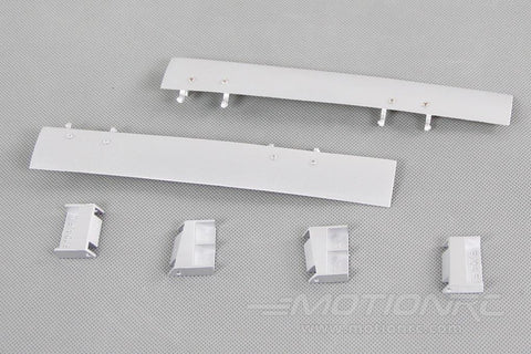 Freewing 90mm F-104 Nose Gear Doors - Silver FJ31011095
