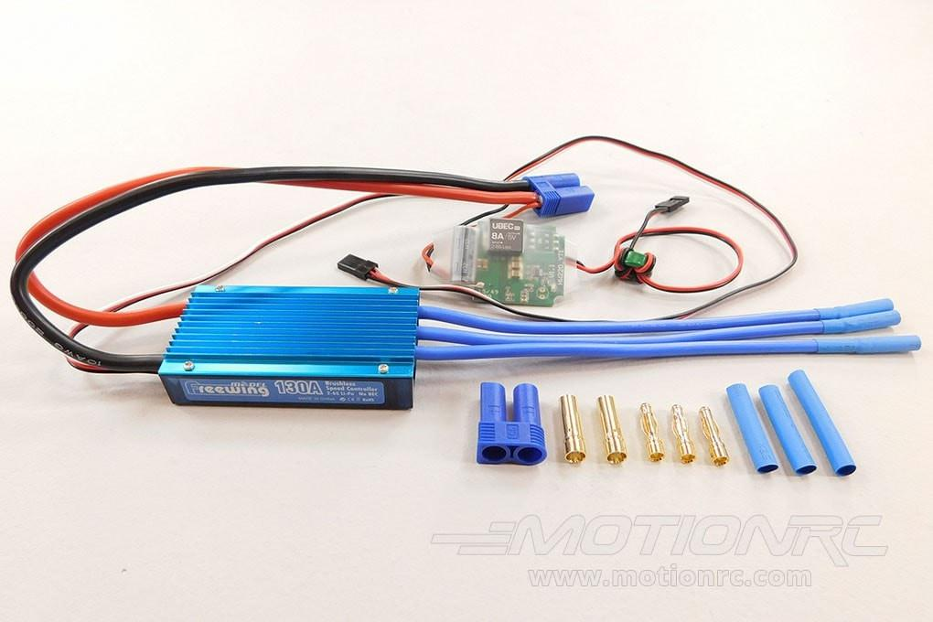 Freewing 90mm F-15 130A Brushless ESC 034D002001
