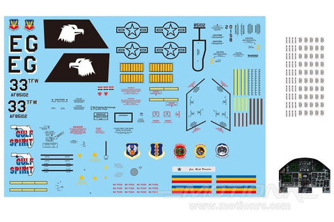 Freewing 90mm F-15C Decal Sheet FJ3091107