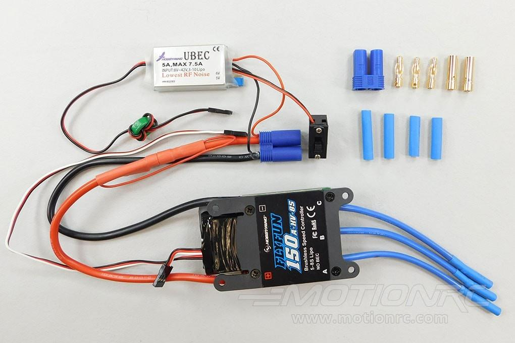 Freewing 90mm F-4D/T-45 150A Brushless ESC 030D002001