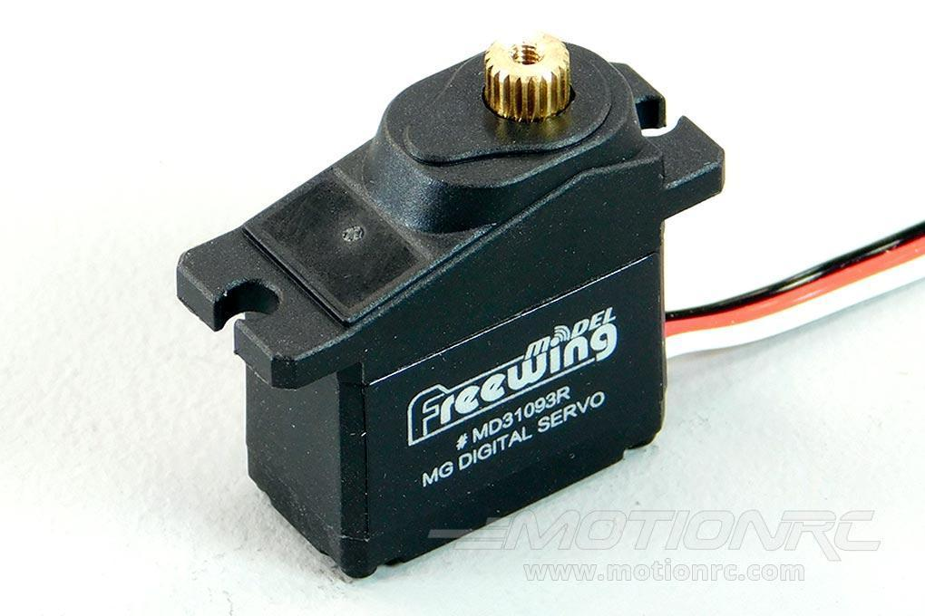 "Freewing 9g Digital Hybrid Metal Gear Reverse Servo with 300mm (12"") Lead MD31093R-300"