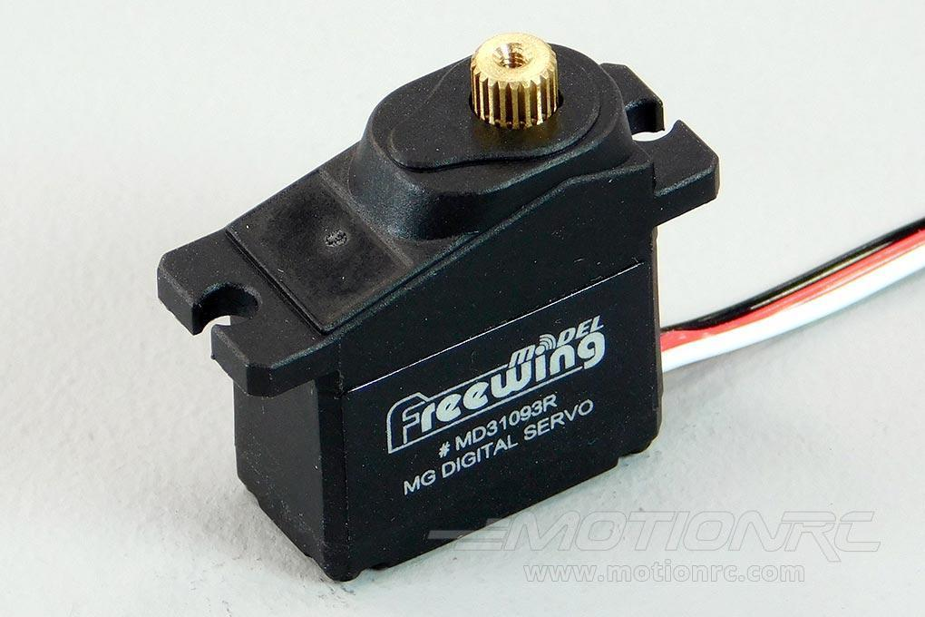 "Freewing 9g Digital Hybrid Metal Gear Reverse Servo with 750mm (30"") Lead MD31093R-750"