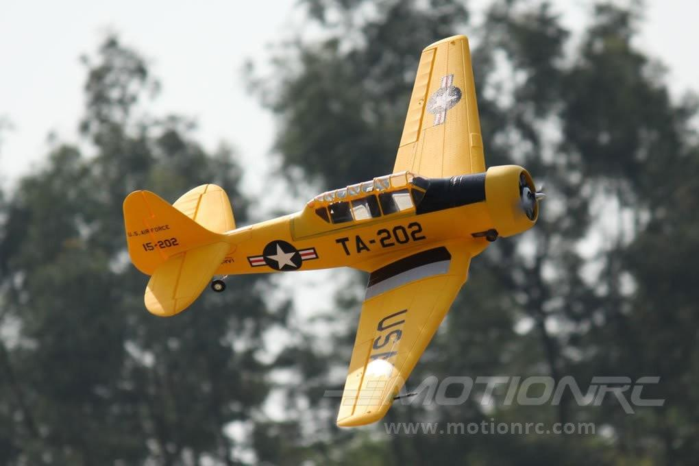 "Freewing AT-6 Texan Yellow 1450mm (57"") Wingspan - PNP FW30311P"
