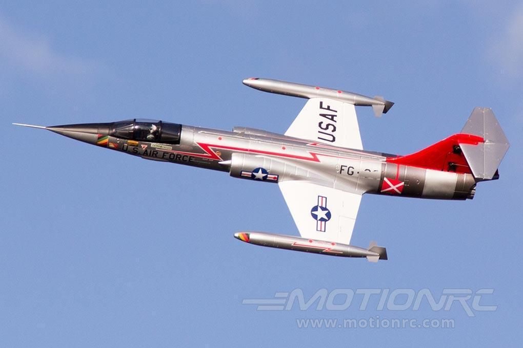 Freewing F-104 Starfighter Silver 70mm EDF Jet - ARF PLUS FN20131A+