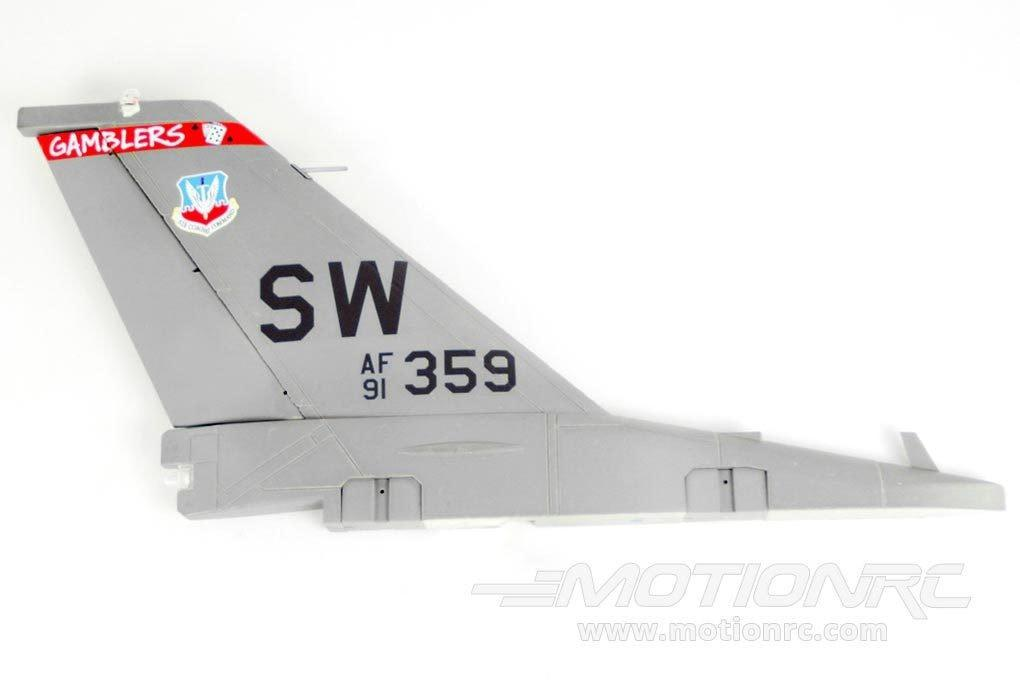 Freewing F-16C 90mm Vertical Stabilizer FJ3061104