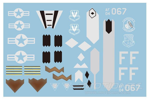 Freewing F-22 Decal Sheet FJ1051107