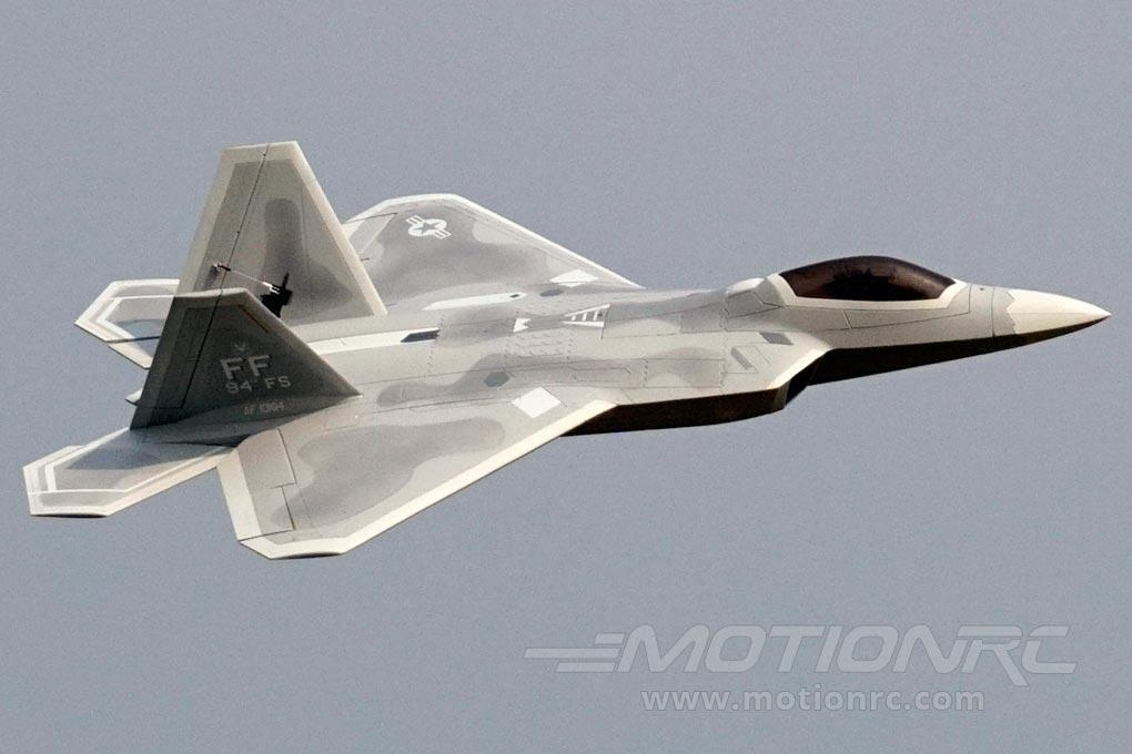 Freewing F-22 Raptor 90mm EDF Jet - PNP - SCRATCH AND DENT FJ31311P(SD)