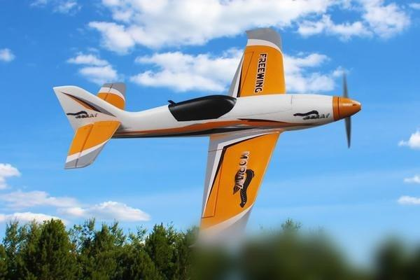 "Freewing Moray Sport Racer Orange 800mm (32"") Wingspan - PNP FS10221P"