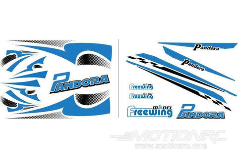 Freewing Pandora Decals - Blue FT3011107B