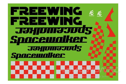 Freewing Space Walker Decal Sheet FT1011107
