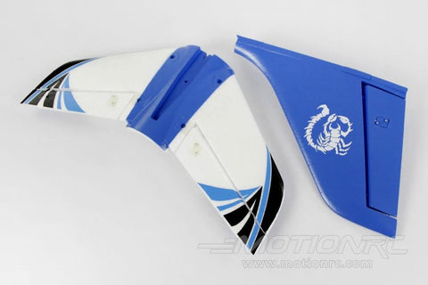 Freewing Stinger 64 Tail Wing Set - Blue FJ1042103
