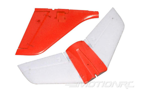 Freewing Stinger 64 Tail Wing Set - Red FJ1041103