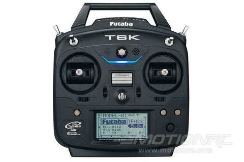 Futaba 6K V2 8-Channel Transmitter with R3006SB Receiver FUTK6100