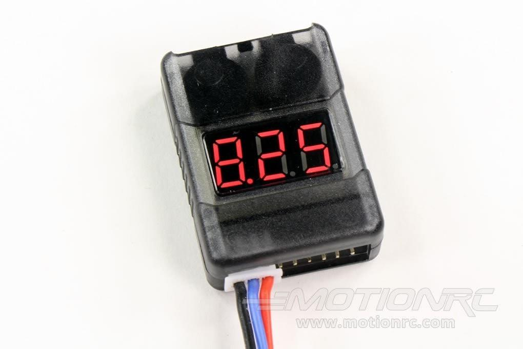 GT Power LiPo Battery Voltage Checker with Low Voltage Alarm GTP8SVOLTALRM