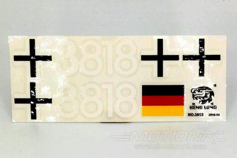 Heng Long 1/16 Scale German Tiger 1 Decal Set HLG3818-102