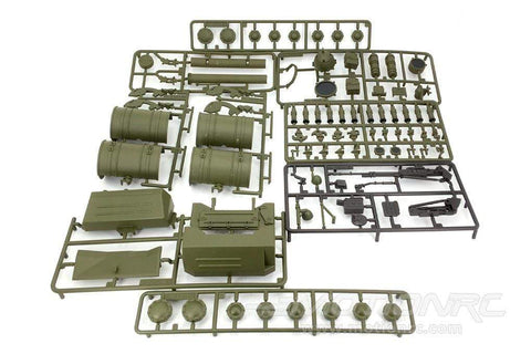 Heng Long 1/16 Scale Russian T-72 Battle Tank Plastic Parts Set HLG3939-100