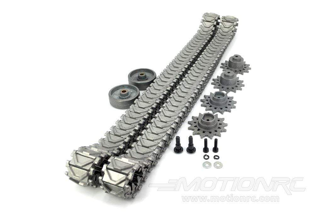 Heng Long 1/16 Scale USA M4A3 Sherman Metal Drive Track Upgrade Set HLG3898-200