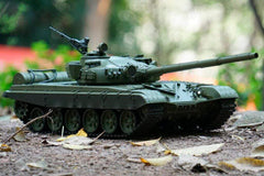 Heng Long Russian T-72 Upgrade Edition 1/16 Scale Battle Tank - RTR HLG3939-001