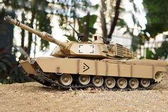 Heng Long USA M1A2 Abrams Upgrade Edition 1/16 Scale Battle Tank - RTR HLG3918-001