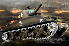 Heng Long USA M4A3 Sherman Professional Edition 1/16 Scale Battle Tank - RTR HLG3898-002
