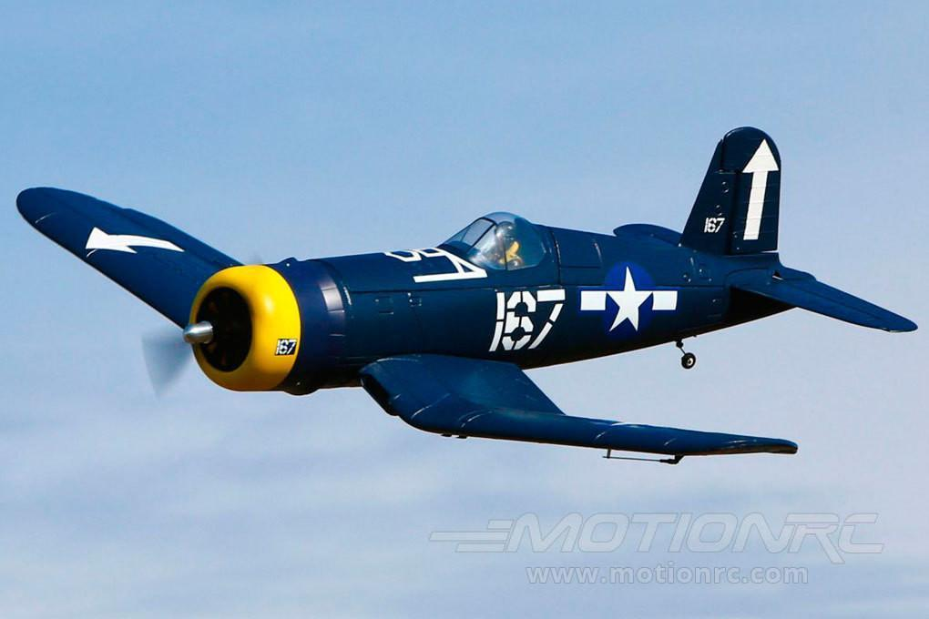 "HobbyZone F4U Corsair S with SAFE 1120mm (44"") Wingspan - BNF HBZ8280"