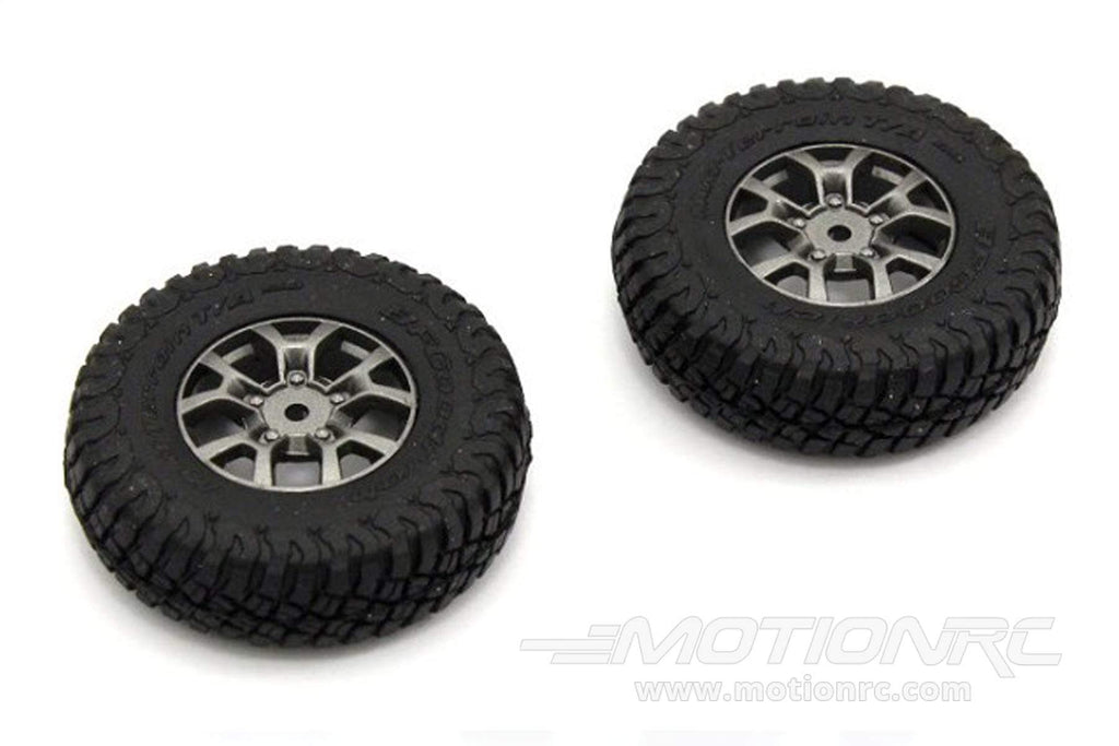 Kyosho 1/24 Scale Mini-Z 4X4 Suzuki Jimny Premounted Tire/Wheel (2pcs) KYOMXTH002