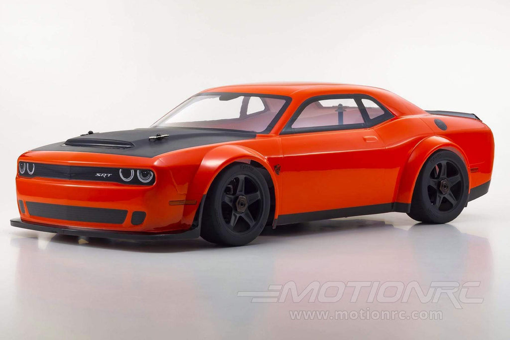 Kyosho Inferno GT2 VE Dodge Challenger SRT Demon Mango 1/8 Scale 4WD Car - RTR KYO34107