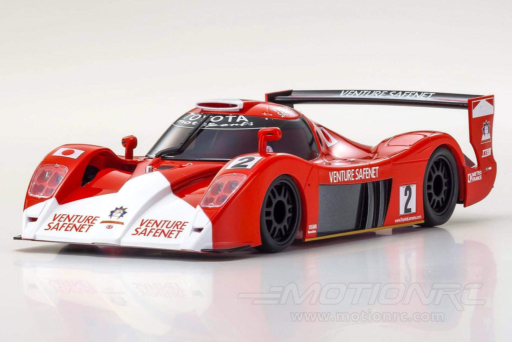 Kyosho Mini-Z Toyota GT-One TS020 No.2 Red/White MR-03 Readyset 1/27 Scale RWD Car - RTR KYO32337L2