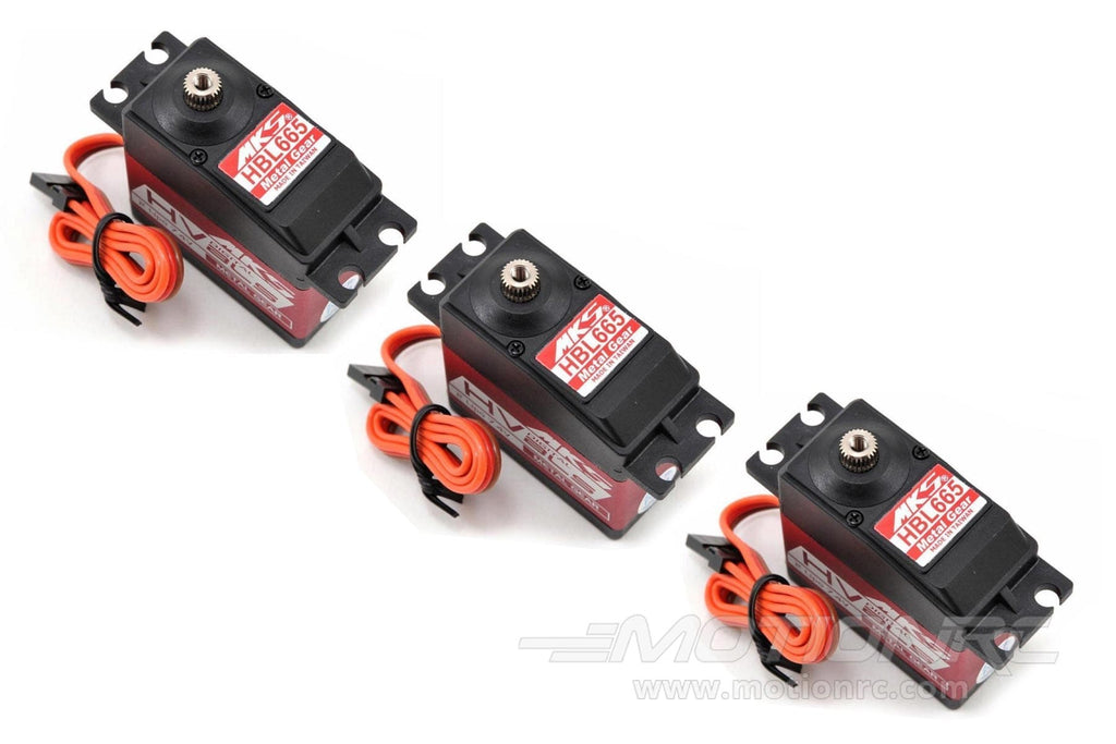 MKS HBL665 High Voltage Servo Multi-Pack (3 Servos)