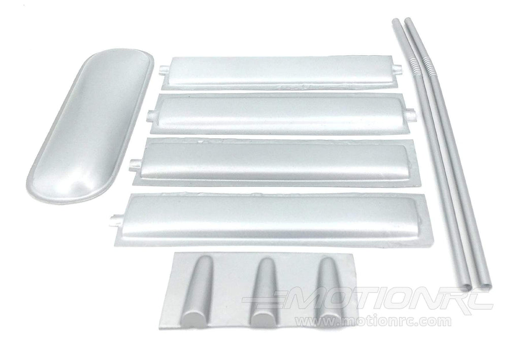 Nexa 1400mm DH.82 Tiger Moth Royal Navy Silver Plastic Part Set NXA1003-207