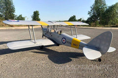 "Nexa DH.82 Tiger Moth Royal Navy Silver 1400mm (55"") Wingspan - ARF NXA-1003-002"