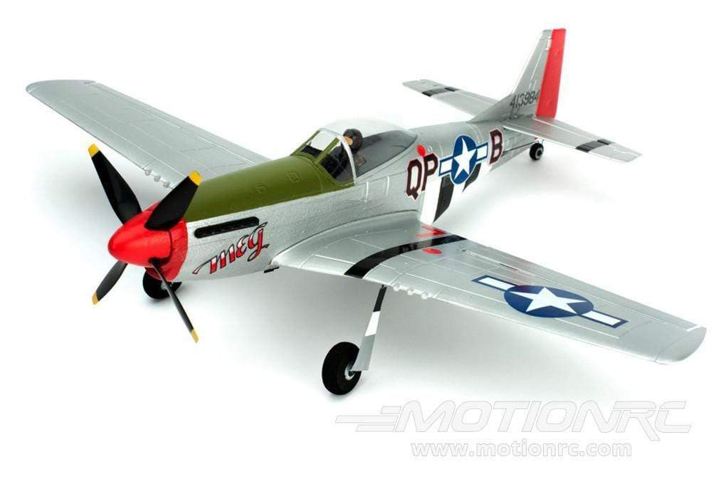"Parkzone Ultra Micro P-51D with AS3X 410mm (16"") Wingspan - BNF PKZU2480"